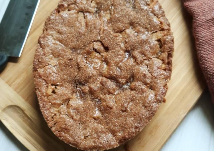 Wheat, Amaranth, Soya flour enriched Apple Cake