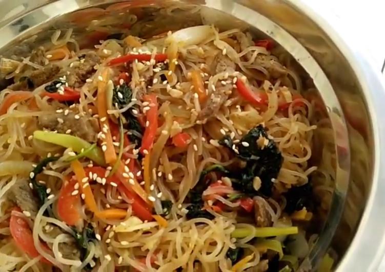 Resep Japchae Aka Capcay Korea Oleh Mila Oktaphiana Cookpad