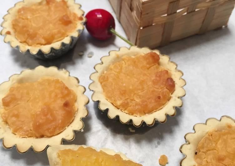 Cara mudah membuat Pie Susu Rendah Kalori Gluten Free #Maree