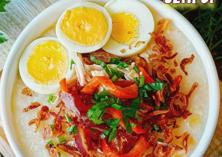 Bubur Nasi Sempoi - resepipouler.com