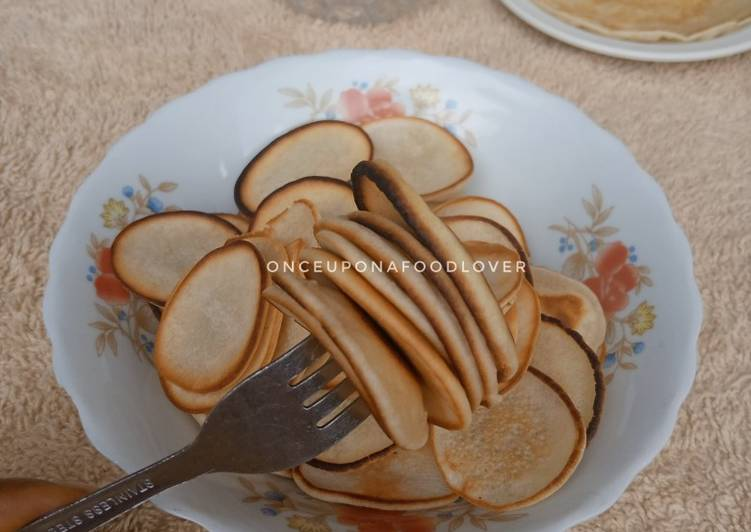 Recipe of Homemade Mini Pancakes (Pancake Cereal)