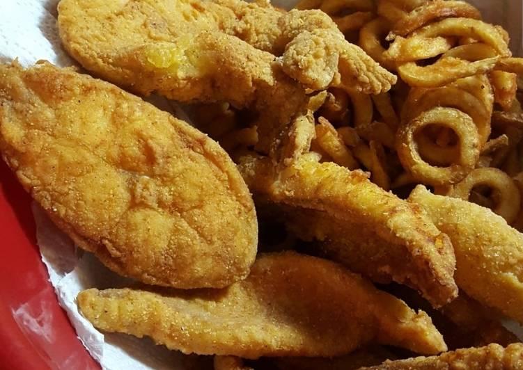 Sharon's fried catfish