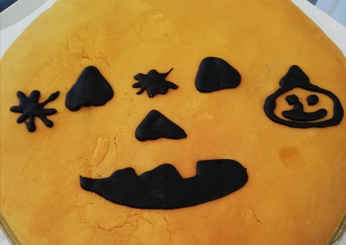 Gâteau chocolat, décors 🎃 citrouille par ma petite pâtissière
