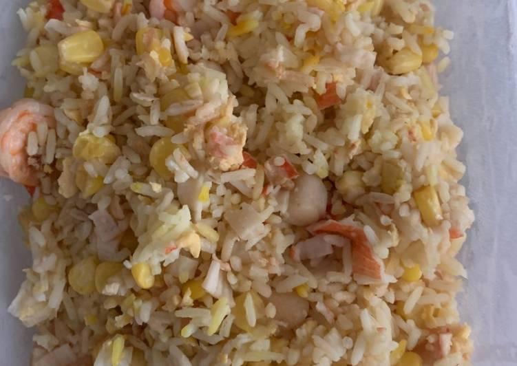 Simple Way to Make Award-winning Seafood fried rice