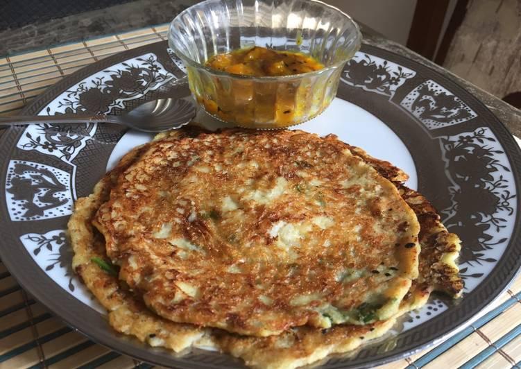 Recipe of Ultimate Panchratan Daal Cheela