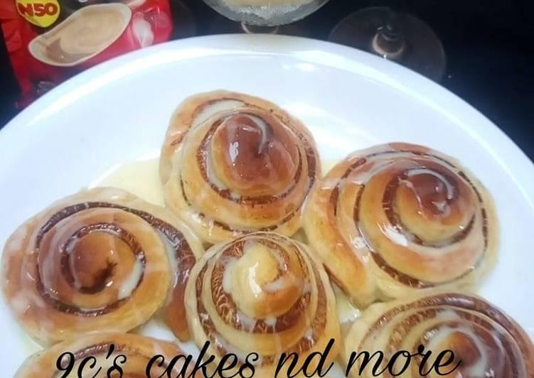 Recipe of Ultimate Cinnamon roll