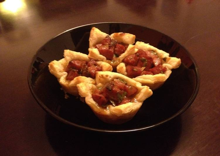Step-by-Step Guide to Make Perfect Kielbasa Puff Pastry Cups