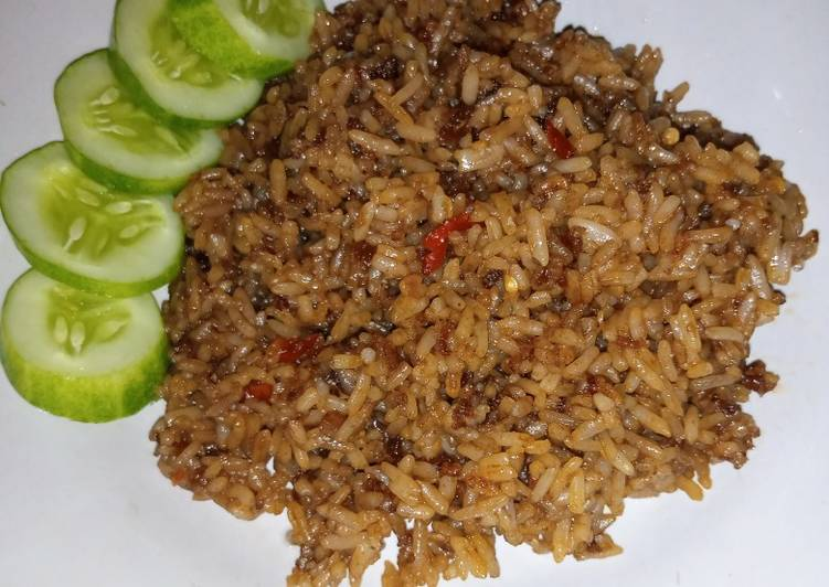 Nasi Goreng Mantul (resep keluarga)