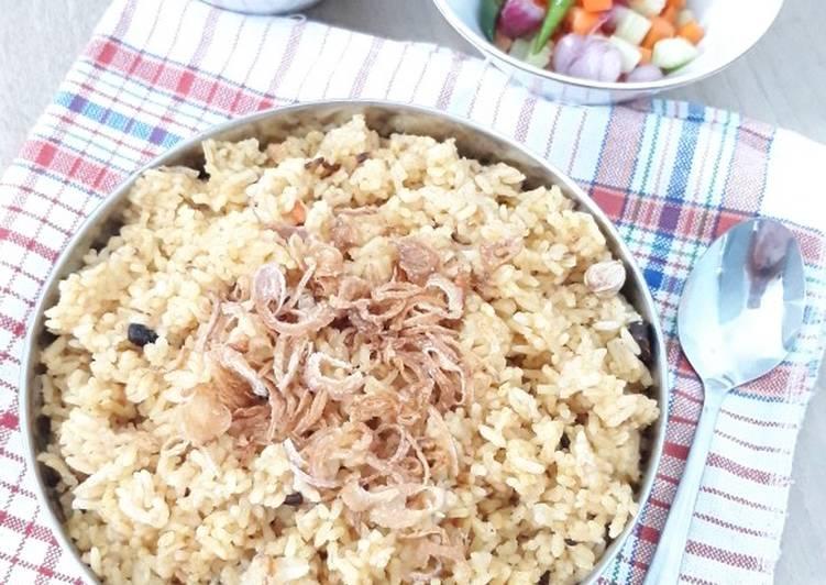 Nasi Minyak/Samin Palembang