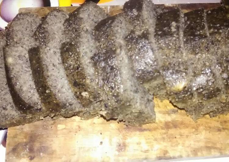 resep masak Bolu tape ketan hitam kukus - Sajian Dapur Bunda