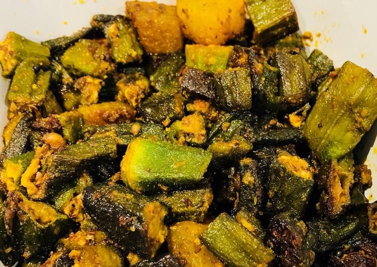 Okra & Potato curry