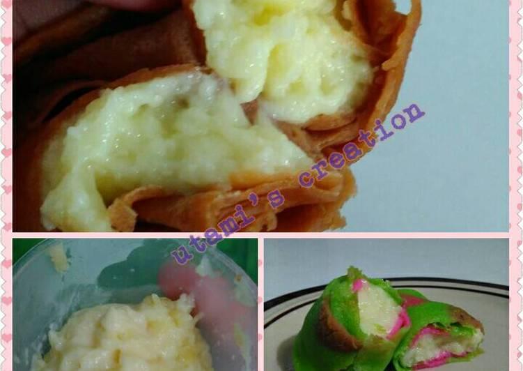 Vla durian keju,, simpel endesss,,, ;)
