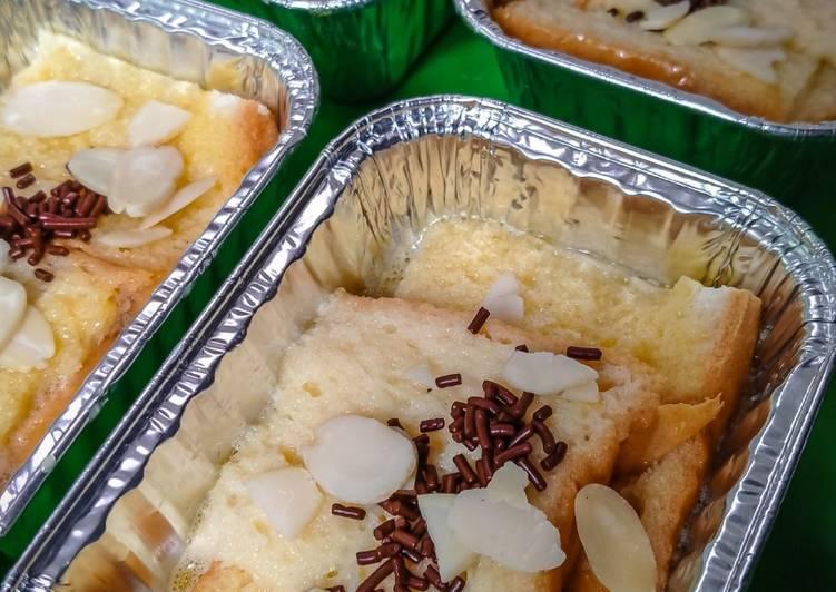 Bread Puding Sederhana