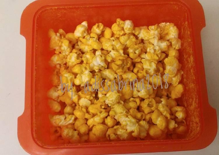 Resep Popcorn Keju Oleh Adis Sabrina Cookpad