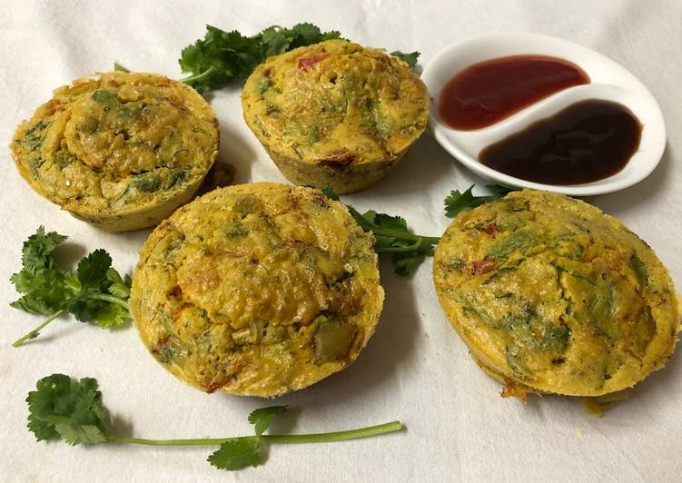 Recipe: Tasty Vegetables muffins
