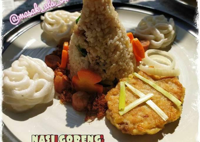 Nasi Goreng Daun Jeruk (Tumpeng Mini)