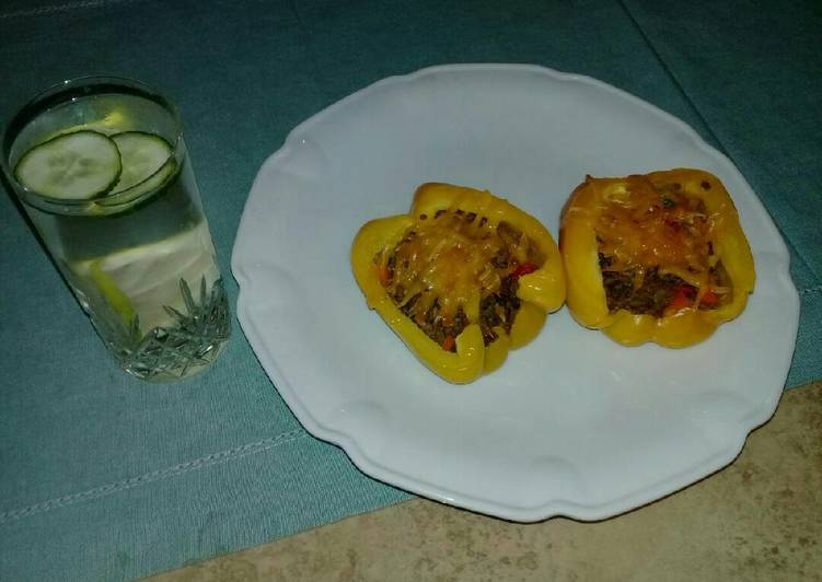 Recipe of Top-Rated Stuffed yellow bell pepper