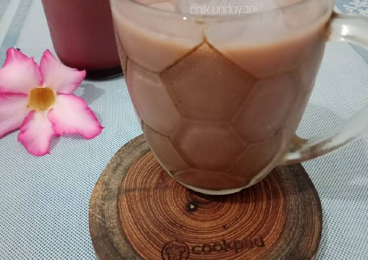 Susu Kedelai Coklat