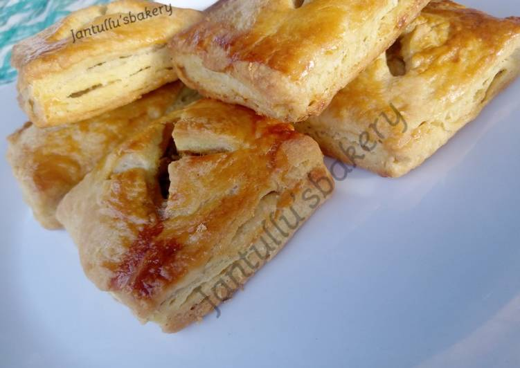 Puff pastry Beef box