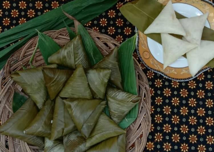 Sumpil(ketupat daun bambu)