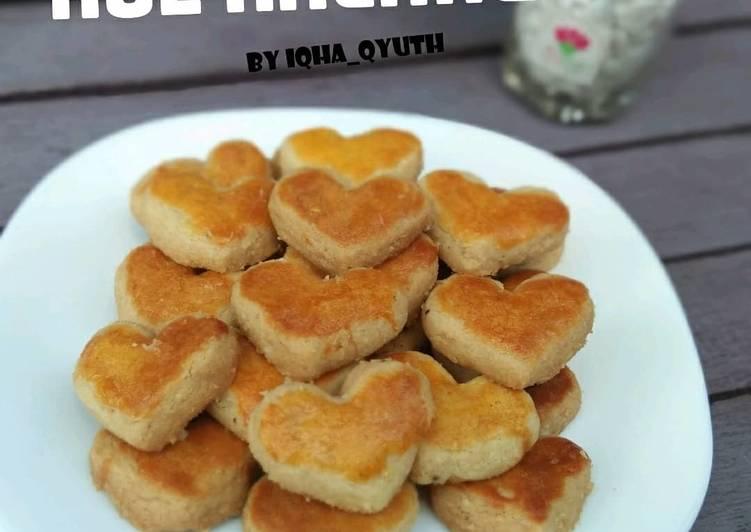 Peanuts Cookies / Kue Kacang - cookandrecipe.com