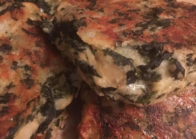 How to Prepare Tasty Spinach Potato Patties