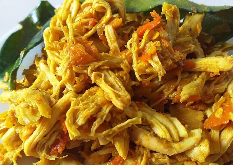 Ayam Suir Bumbu Bali Diet