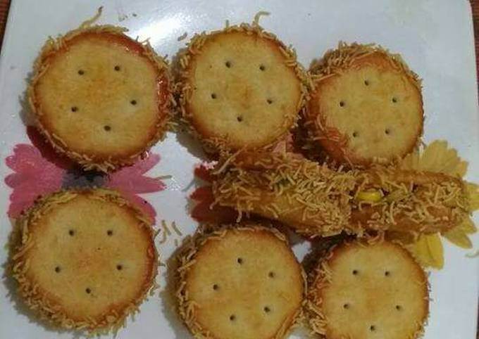 How to Cook Tasty Monaco biscuits snackes