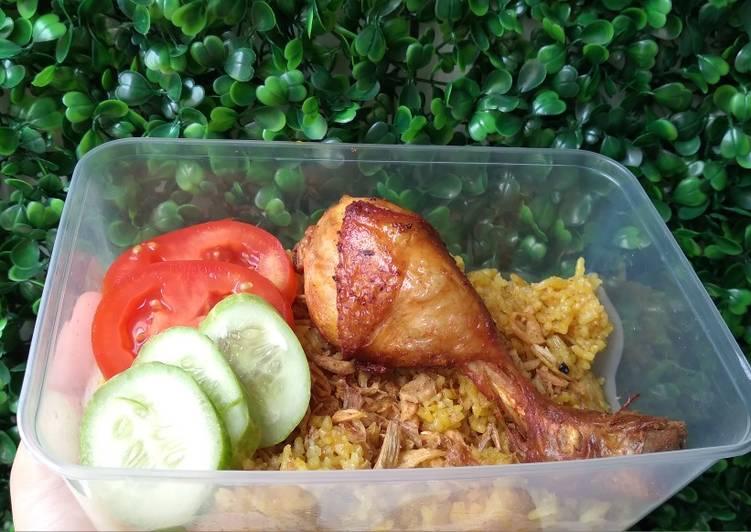 Nasi Kebuli Ayam (Magicom) - cookandrecipe.com