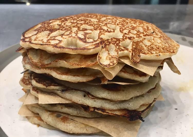 How to Prepare Homemade Vegan Buckwheat Flour Pancakes