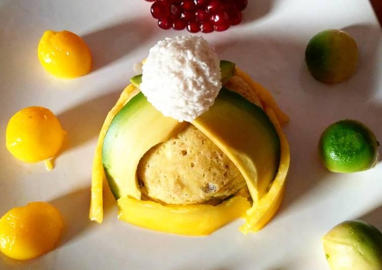 Bowlcake avocat/mangue/vanille