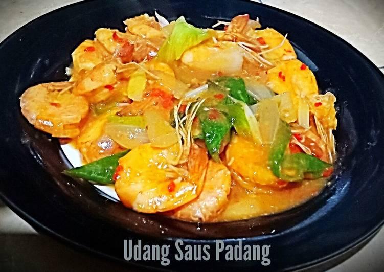 Udang Saus Padang - cookandrecipe.com