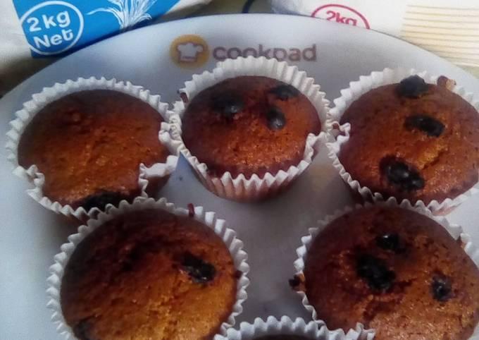 Ugali cupcakes