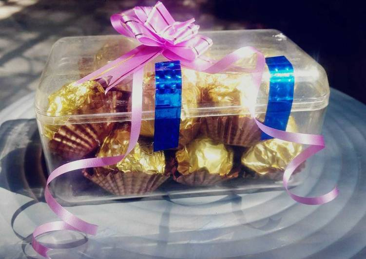 Step-by-Step Guide to Prepare Most Popular Ferrero Rochher choclates