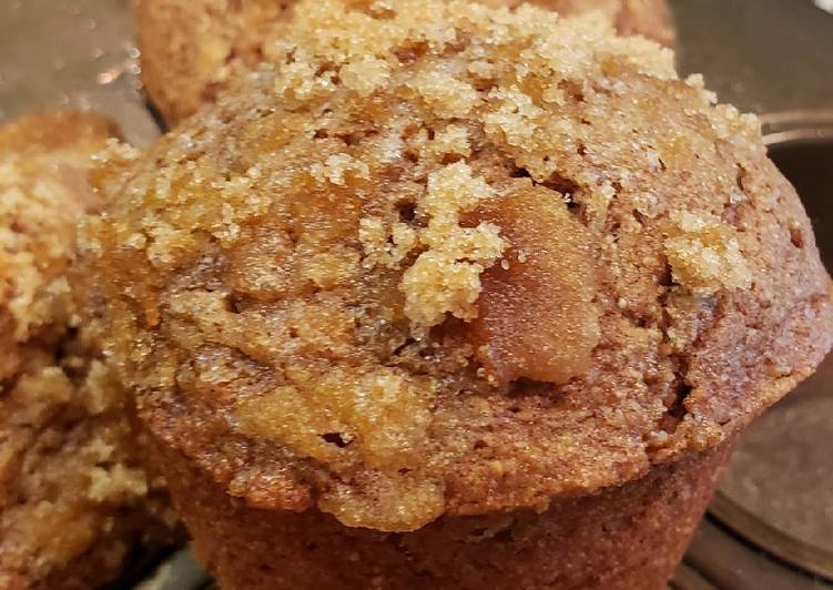 Recipe of Award-winning Fresh Fig Whole Wheat Muffins with a Brown Sugar Crumble