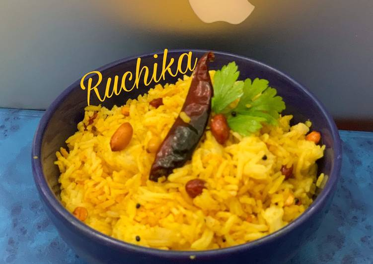 Recipe of Favorite Lemon Rice with leftover rice