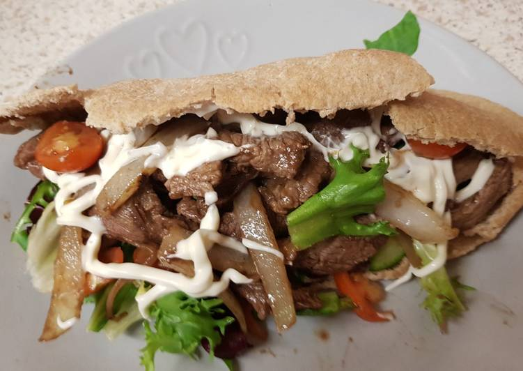 My Homemade seasoned Steak in pitta Bread. 😘, Quite A Lot Of You May Possibly Not Realize This But Coconut Oil Can Have Great Health Advantages To It