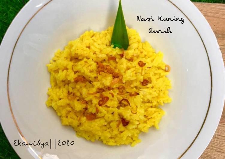 Nasi Kuning Gurih - cookandrecipe.com
