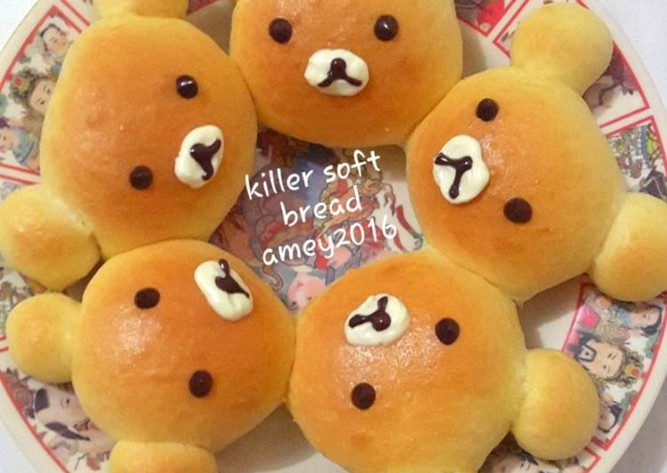 Resep Killer soft bread character Terenak