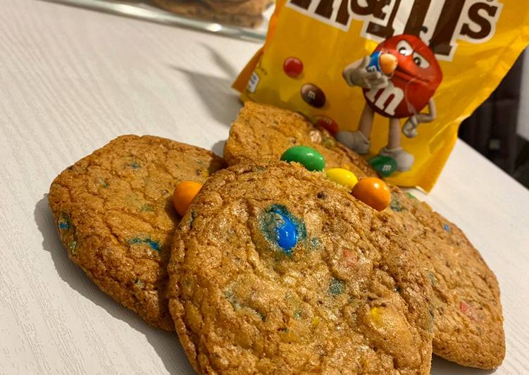 Comment Faire Des Cookies aux M&M's 🍪