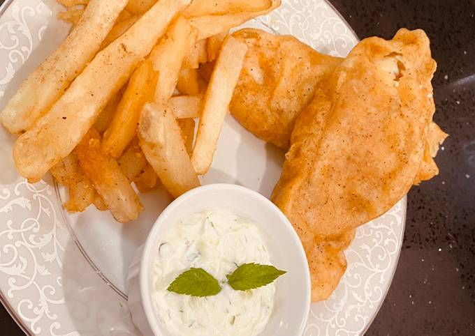 Fish And Chips Recipe By Rabia Fawad Cookpad