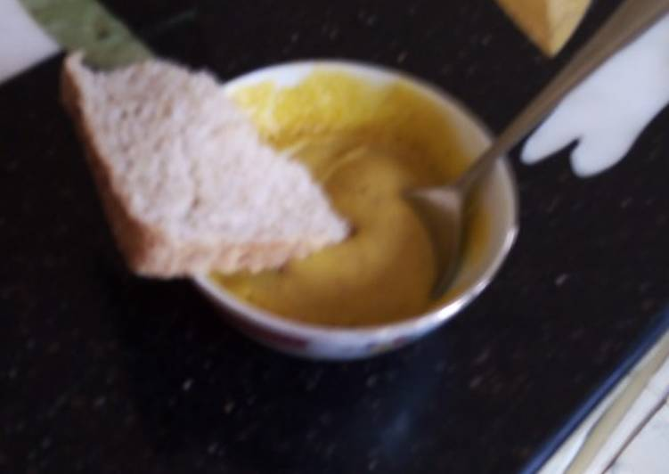 Yummy butternut soup (home made)