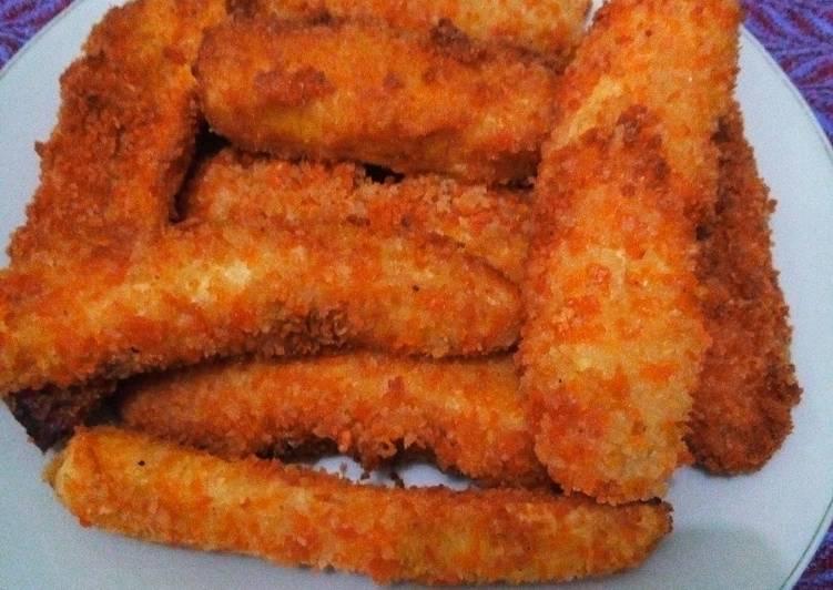 Pisang goreng crispy