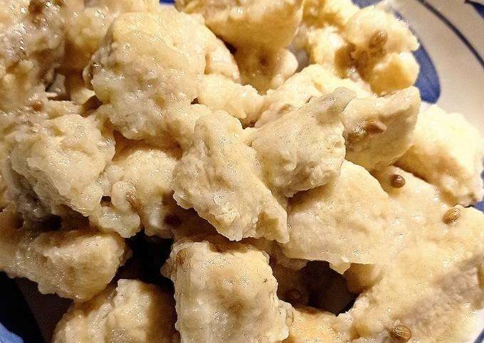 Petto di pollo con semi di coriandolo