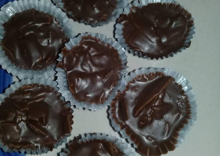 Recipe: Delicious Chocolate Coconut Clusters