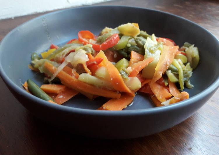 Recipe of Super Quick Homemade Wok de légumes