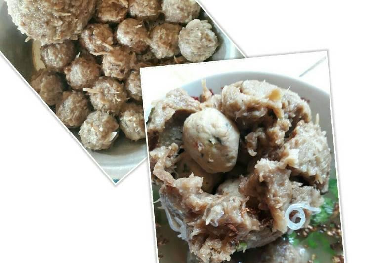 Resep Bakso Vegan Kaki Jamur Hioko Oleh Shanti Reynand Cookpad