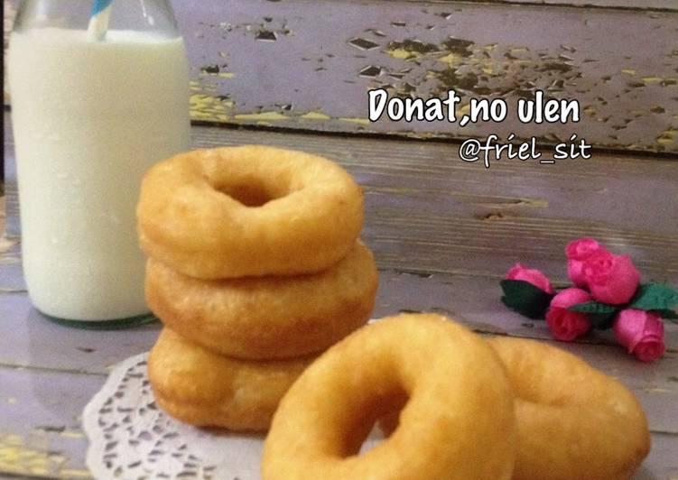 Donat empuk, tanpa kentang, tanpa ulen