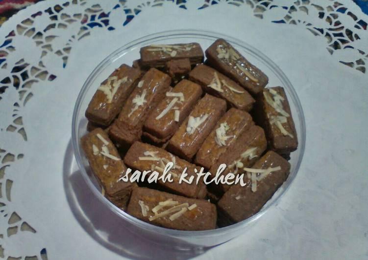 Resep Kue Kering Cokelat Keju Oleh Titi Damayanti Cookpad