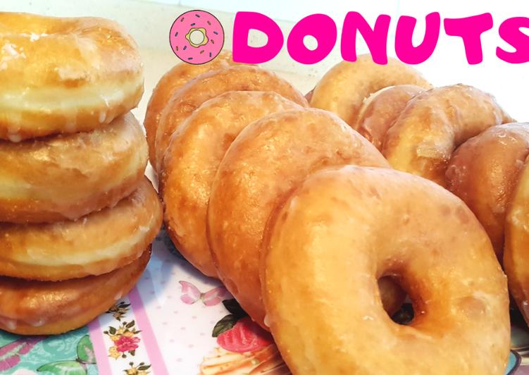Cómo Hacer Donuts O Donas Tiernos Y Esponjosos Receta De Rebeca De My House Land Cookpad